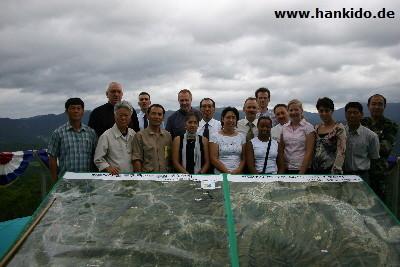 Reise Südkorea, Einladung Südkorea, Hankido Hermanski